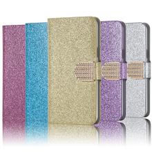 Wallet Fashion Flip cell cover case Asus ZenFone 2 Laser ZE500KL Bling Phone cases - THD Case Factory store