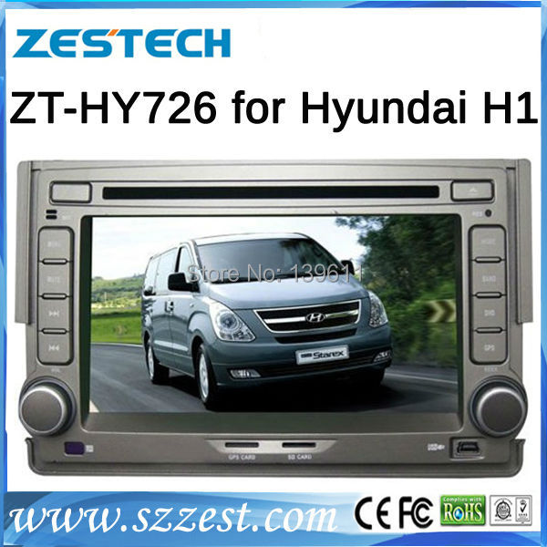 "ZESTECH car gps TV/3G/Dvd player/bluetooth/GPS/DVB/ATSC 7"" car gps for Hyundai H1 car gps with dvd(China (Mainland))"