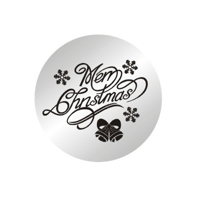 10pcs/lot 2014 New 22mm Merry Christmas Stainless Steel Plates Charms For 30MM Floating Memory Lockets(China (Mainland))