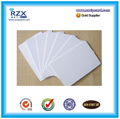 1000pcs manufacturer wholesale price high quality 860-960mhz plastic RFID UHF Alien H3 9662 smart blank card(China (Mainland))