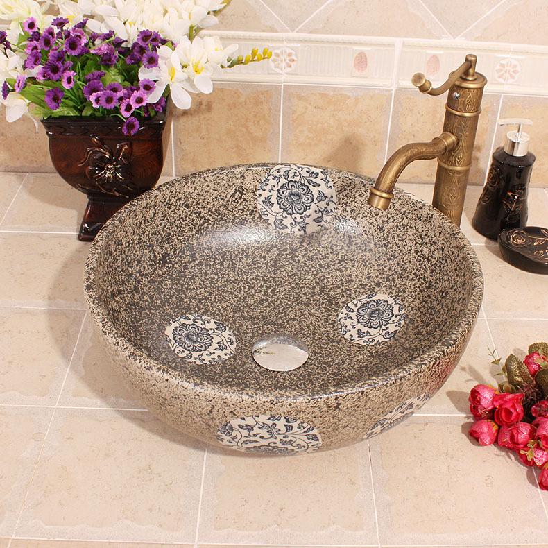 Lavabo en porcelaine promotion achetez des lavabo en for Lavabo ceramique ou porcelaine