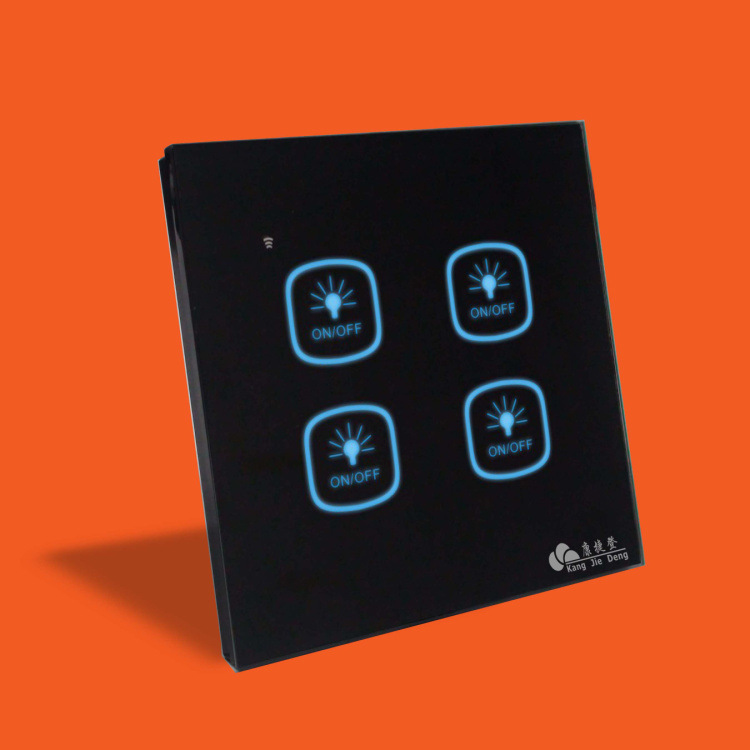 High-end wireless remote control switches Things smart glass panel touch sensitive switch<br><br>Aliexpress