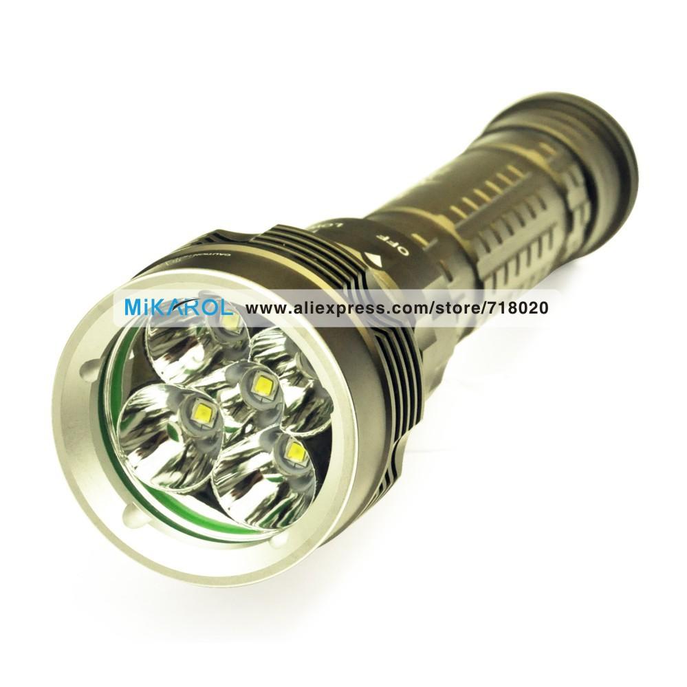 Здесь можно купить  Scuba Flash Light Dive Torch Lamp - 100M Depth Waterproof and Rechargeable  Свет и освещение
