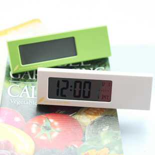 Luminous alarm clock mute small alarm clock digital electronic alarm clock lounged calendar alarm clock(China (Mainland))