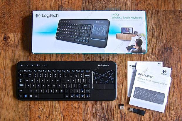 Free Shipping!Logitech K400R USB Wireless Touch Keyboard Keypad K400 Pro Plus Muti-media Win8(China (Mainland))