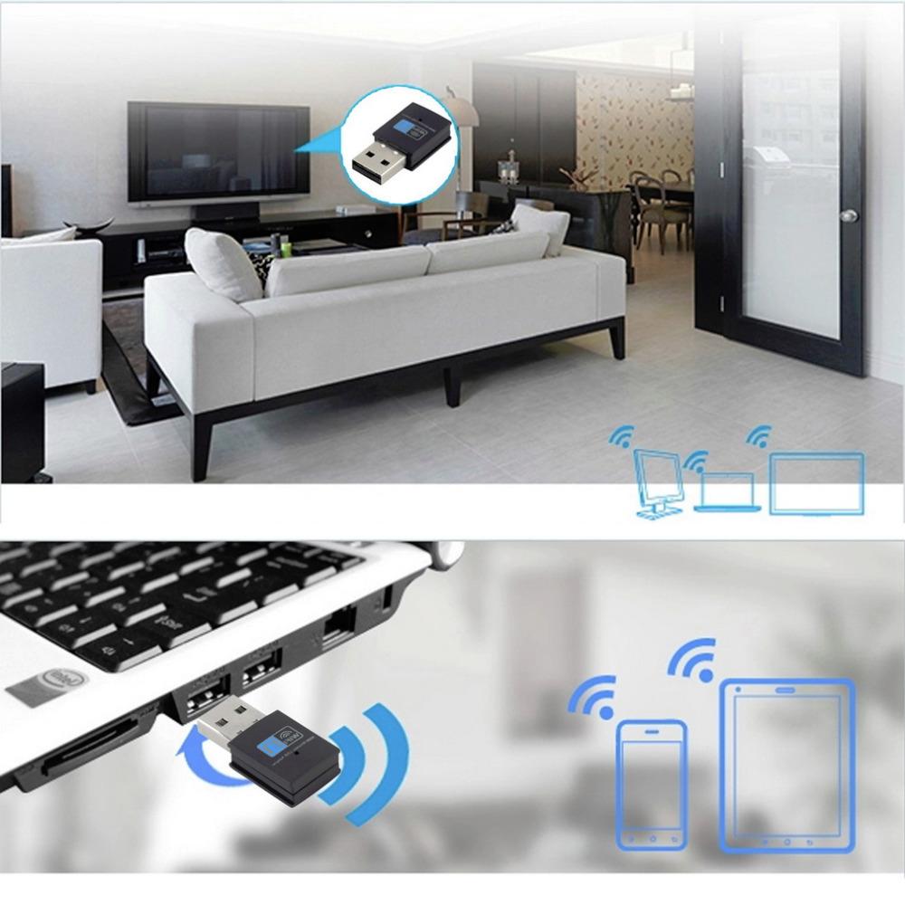 Гаджет  1pcs 300M USB Wifi Adapter WiFi Network Card Adapter for Raspberry Pi 2 Model New Professional None Компьютер & сеть