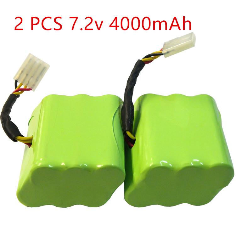Free Shipping 2 Piece 7.2v 4000mAh Battery for Neato XV-11 XV-12 XV-14 XV-15 XV-21 Vacuum Cleaner Battery(China (Mainland))