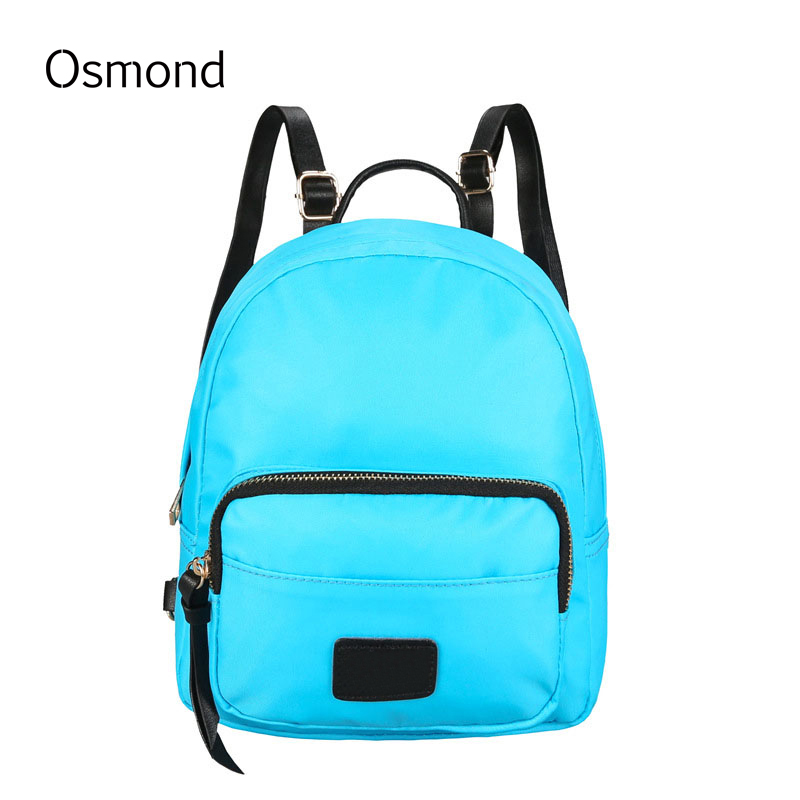 Osmond Women Backpack Oxford Small Backpacks School Bag Teenage Girls 2017 Fashion Mochilas Travel Back Pack