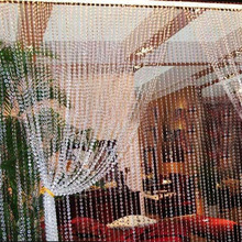 Buy 30M Octagonal Acrylic Crystal DIY Curtain Beads Party Wedding Decoration Beads Curtain Window Door Passage E#CH for $9.01 in AliExpress store