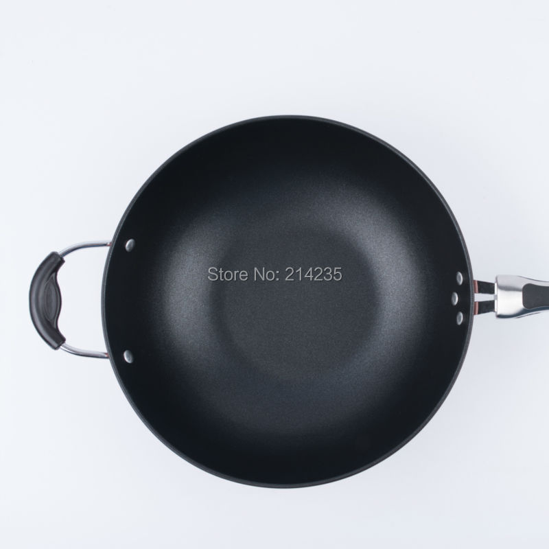 Nonstick pan little lampblack electromagnetic stove gas cooker cooking a general 32cm