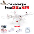 Newest SYMA X8SW RC Drone 2 4G 4CH 6 Axis Quadcopter With FPV Wifi Camera or