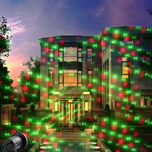 laser christmas lights Laser Spotlight Waterproof Christmas Lights Outdoor Laser Projector Decorations For Home yard party(China (Mainland))