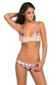 Women Print Strappy Bikini Sets 2016 Sale Swimming Suit Lady Sexy Two Piece Low Waist Swimsuit