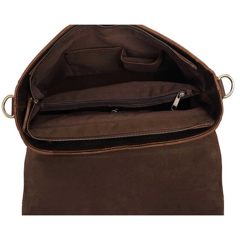 handmade leather laptop bag for men (3)