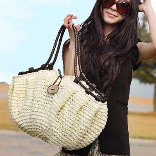 new womens handbags fashion 2015 totes designers Straw bag woven straw