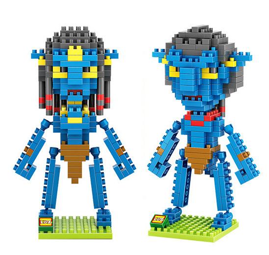 LOZ Avatar Movie Minifigure Namo Block Jack Neytiri Figure Diamond Building Brick Toy(China (Mainland))