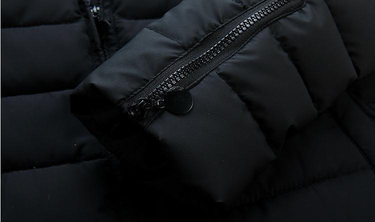 Мужской пуховик Xw9105 slim fit 3xl xw87