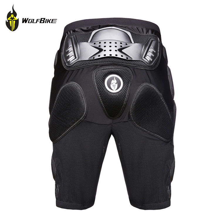WOLFBIKE Overland Motorcycle Armor Pants Leg Ass Protection Riding Racing Equipment Gear   BC312