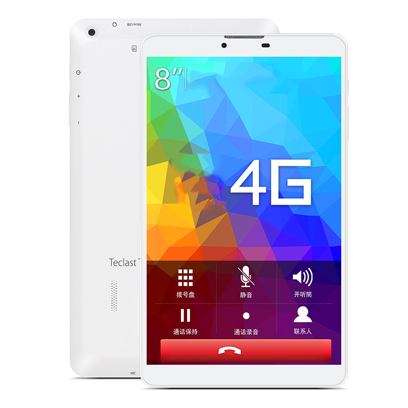 Teclast P80 4G Tablets 8 inch MTK8752 Android 5.1 Quad Core 1280 x 800 IPS Dual Wifi 2.4G/5G Bluetooth GPS Tablet PC(China (Mainland))