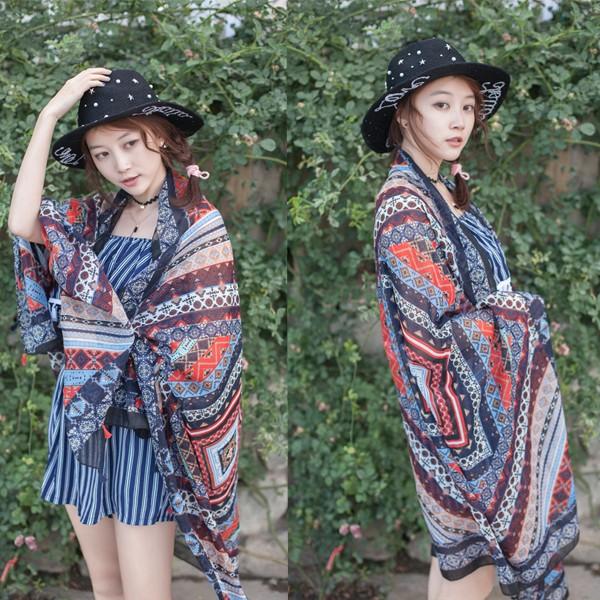 2016 New Fashion Ladies Tassel Scarf Printed Women Brand Wraps Hot-Sale Winter ladies Scarves Shawls Headband Voile Colorful