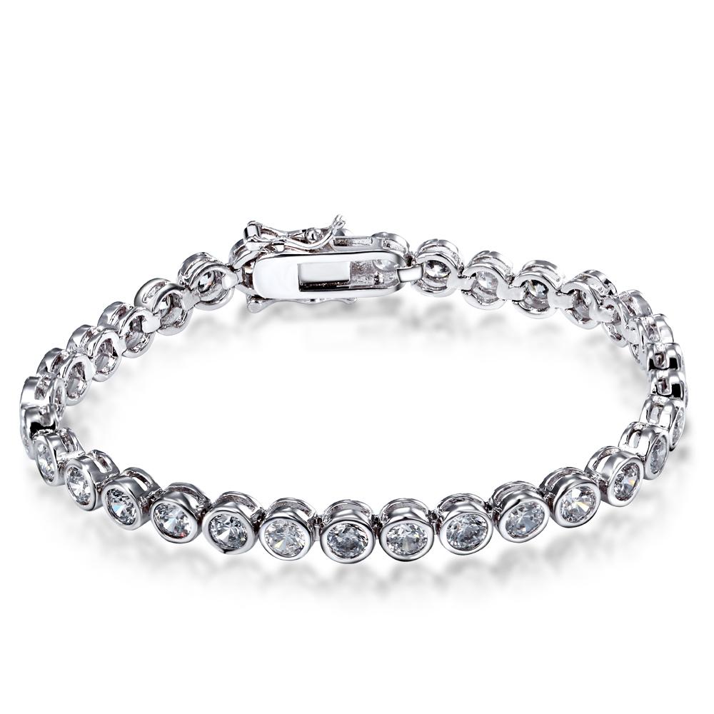 18cm charm bracelet rhinestone cz 18mm bracelet femme Jewelry bracelets & bangles cubic zirconia bangle best Gifts 2016(China (Mainland))