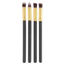 4 pçs set Professional Eye brushes set Fundação eyeshadow Blending Pencil ferramenta pincel Maquiagem Cosméticos Rímel