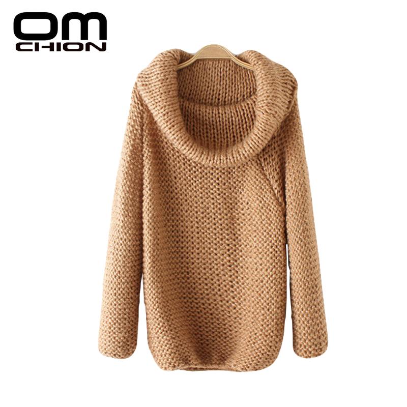 Bayan HiRka 2016 Label Neck Long Sleeve Loose Sweater Women Off Shoulder Fashion Oversize Sweaters Chompa Sueter LMY16(China (Mainland))