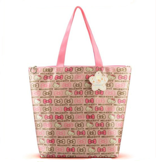 New 2017 Brand fashion Handbag Silicone jelly bag Boutique tote Hello kitty bag transparent Lovely girl bag Casual Clutch Hot(China (Mainland))