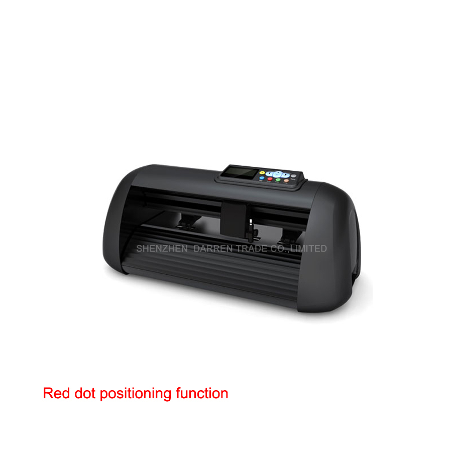 Free by DHL red dot contour step motor vinyl cutting plotter 90W 415mm Usb flatbed plotter cutter Model HW330 Cut Length 20000mm(China (Mainland))