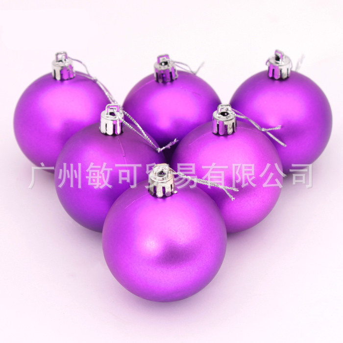 Promotion !!! 3-10cm Golden Christmas balls Christmas decorations 3-4cm12 pieces / pack 5-8cm6 pieces / pack Free shipping(China (Mainland))