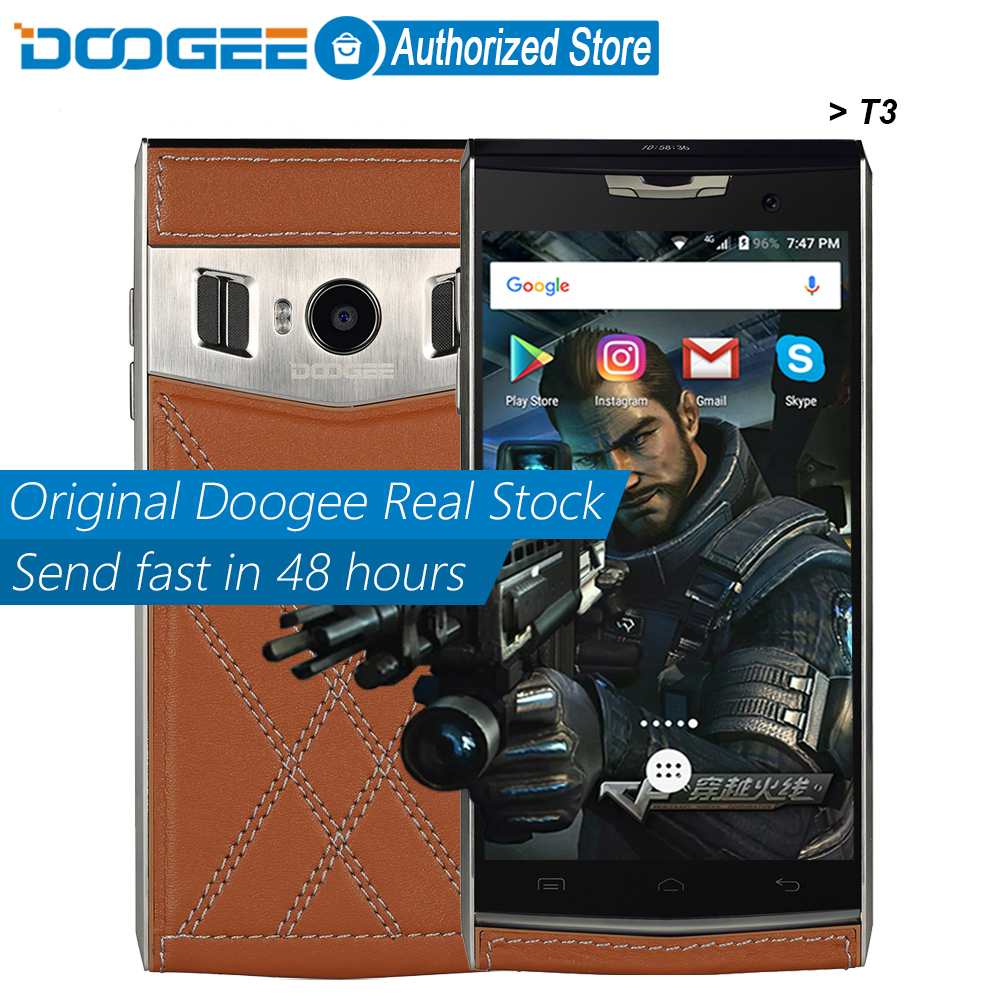 Doogee T3 mobile phones Dual Screen 4.7Inch HD + 0.96Inch 3GB RAM+32GB ROM Android6.0 Dual SIM MTK6753 Octa Core 13.0MP 3200mAH(China (Mainland))