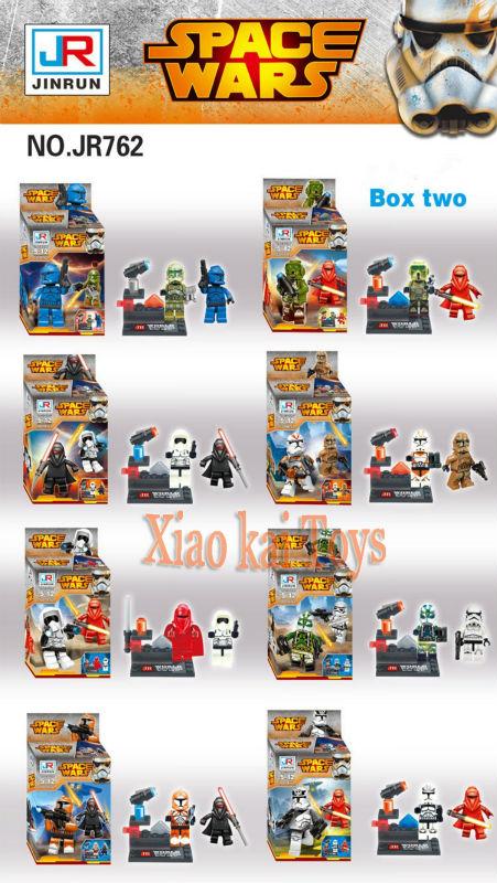 2016 New 8pcs/set Star Wars Minifigure Kylo Ren Captain Phasma Minifigures Building Block Set The Force Awakens Brick Kid Toys<br><br>Aliexpress