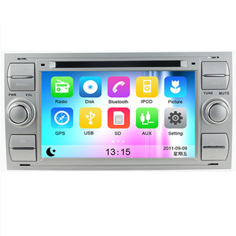 Wince 6.0 Car Radio for Ford Focus 1999-2008 Car DVD+GPS+RDS+Bluetooth+A2DP+Phone book+USB & SD+Support for iPod for iPhone+AUX(China (Mainland))