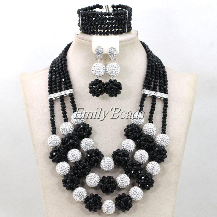 Wonderful African Beads Jewelry Set Nigerian Wedding African Women Jewelry Set Crystal Beads Set 2016 New Free Shipping AIJ764<br><br>Aliexpress