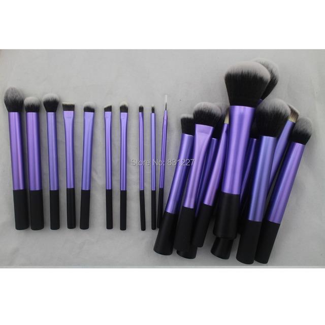 Седона удивительные 20 шт. мягкий волос плотные фиолетовый макияж кисти полный комплект ...