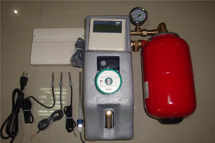 Working Station for Split Pressurized Solar Water Heating System, Solar Water Heater Working Pump Station(China (Mainland))