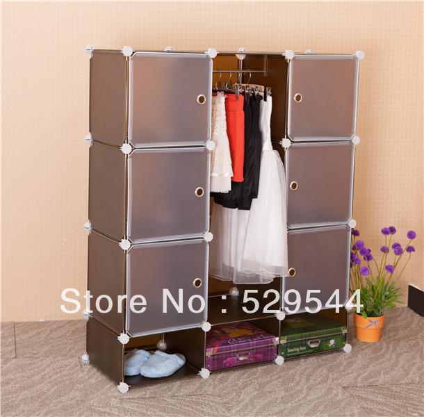 On Sale Bedroom furniture DIY Wardrobe  armoire Schrank Drawer chest End table Garderobe  1set/lots
