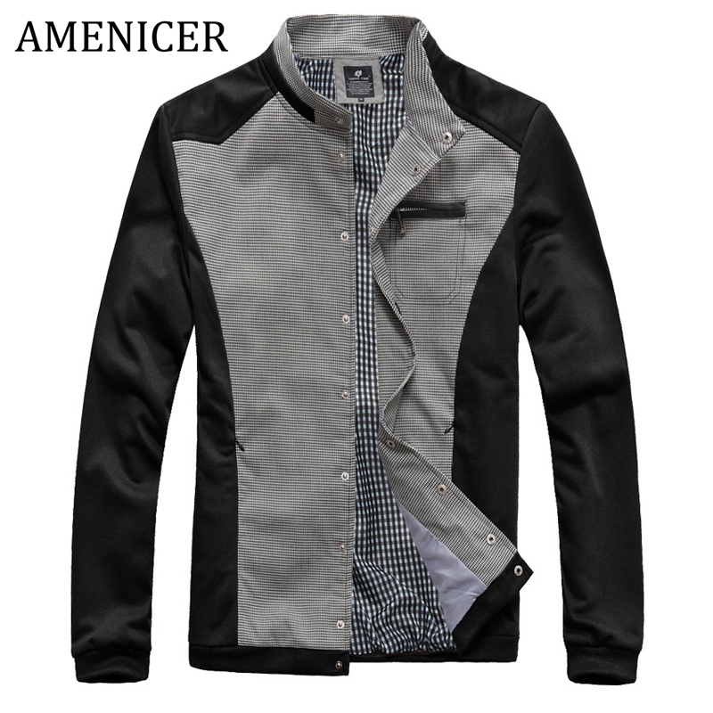 New 2016 Men Casual Jacket College Baseball Jersey Brand Coats For Men Military Style Jackets Veste Homme Marque Luxury 3 Colors(China (Mainland))