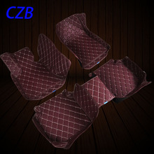 Floor Mats the whole surrounded leather dedicated for Ford Focus hatchback sedan classic fast shipping DHL(China (Mainland))
