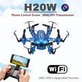 JJRC H20W Drone WIFI FPV Quadcopter with Camera Dron 6 axis 2 4G Quadrocopter With Gyro