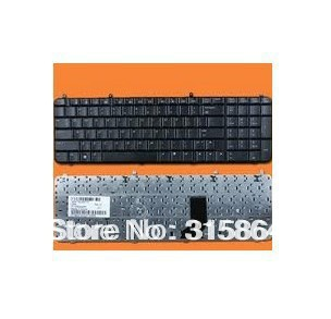 FREE SHIPPING+New Keyboard for HP Pavilion DV9000 DV9100 DV9200 DV9300 DV9400 DV9500 Black laptop keyboard US version(China (Mainland))