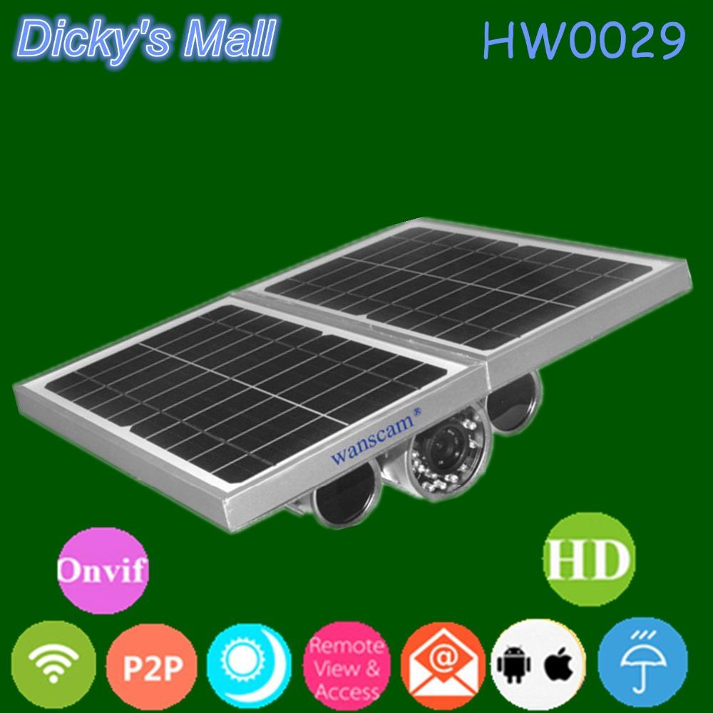 Outdoor Wireless HD Solar Powered CCTV Camera 2x Batteries ...