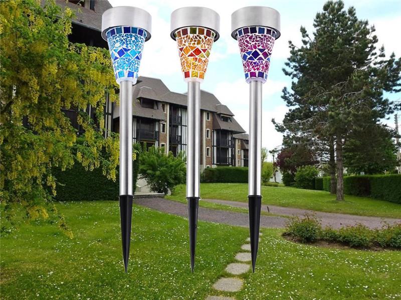 LED Solar Power Lawn Light12