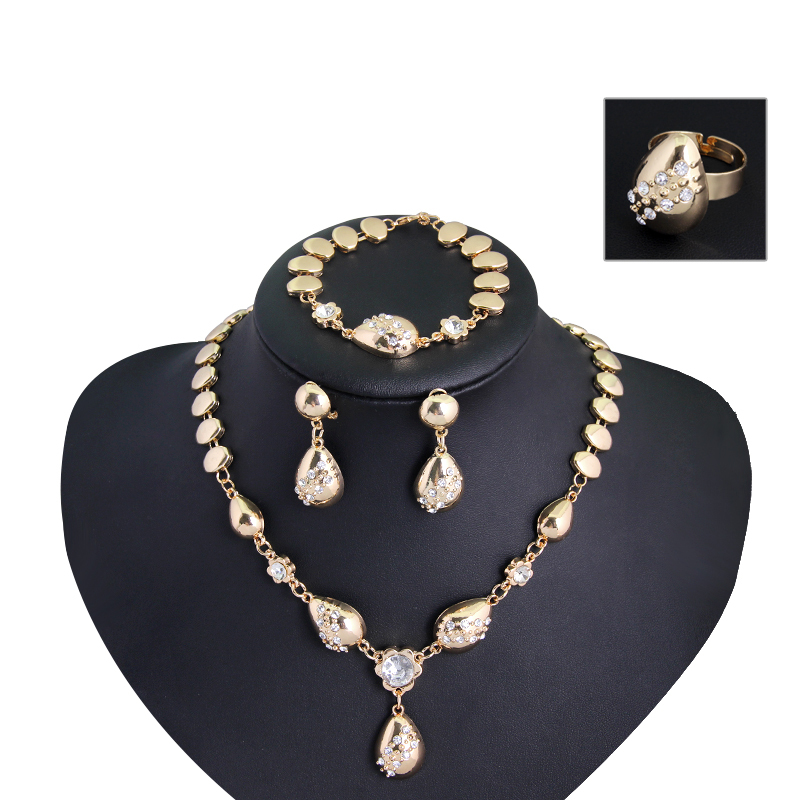 buy luxury design 18k gold plated fashion party
