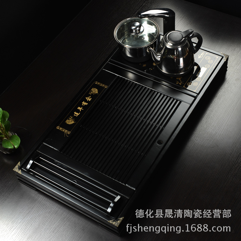 Wholesale Ko surplus year after year Four cooker tea tray and drainage pumping station Coffee New