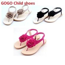 Girls Sandals Shoes For Girls Flip Flops Summer Children Shoes Girls Floral Princess Sandalia Infantil Shoes