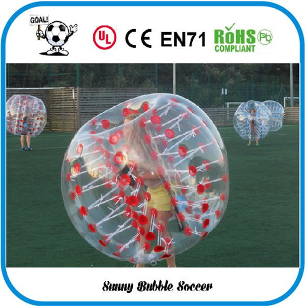 8pcs(4Red+4Blue+2Blower)0.8mm PVC 1.5m Air Bumper Ball Inflatable Sport Balls Body. body zorb ball for sale,soccer zorb ball(China (Mainland))
