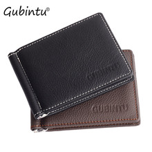 Buy GUBINTU Men Leather wallet Ultrathin Luxury Credit Card ID Card Holder Slim Purse Clutches Mens Wallet 2017 Hot Sale for $4.82 in AliExpress store
