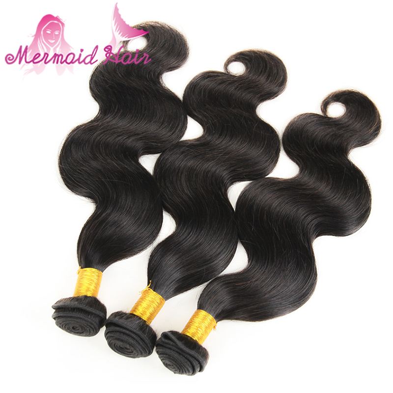 7A Grade Brazilian Virgin Hair Body Wave 1B Unprocessed Brazilian Body Wave 3 Bundles Brazilian Hair Weave Bundles Human Hair