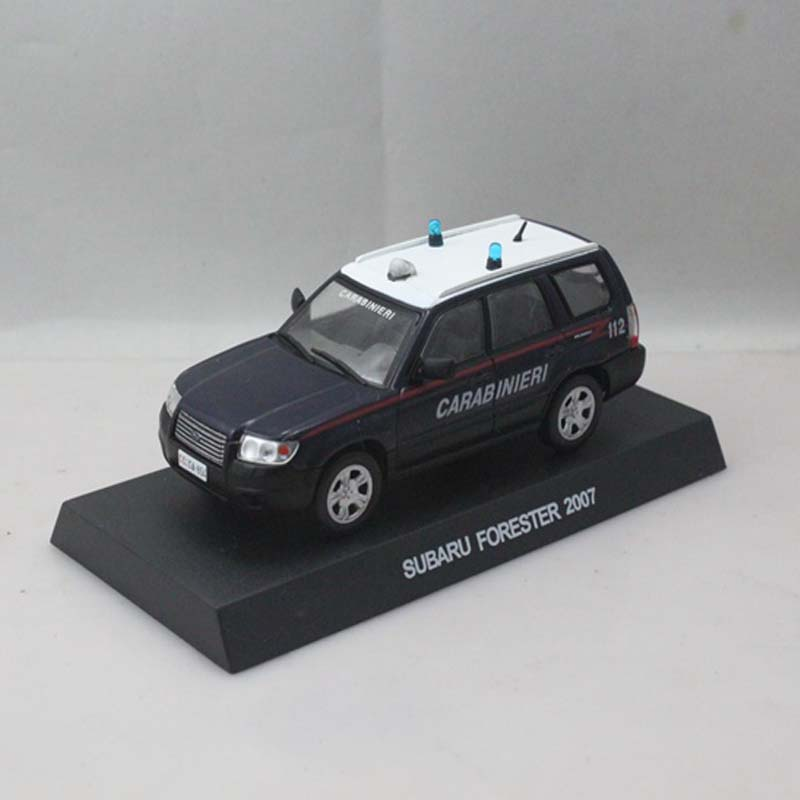 1:43 SUBARU FORESTER 2007 CARABINIERI 112 Diecast Metal Model Cars Collection or Children's Toys and Gifts(China (Mainland))